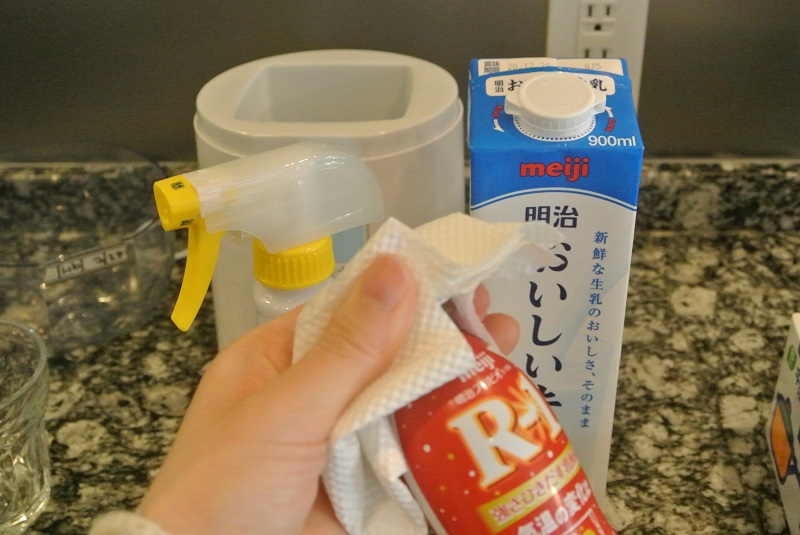 ヨーグルトメーカーを使ったR1ヨーグルトの作り方【効果も検証】
