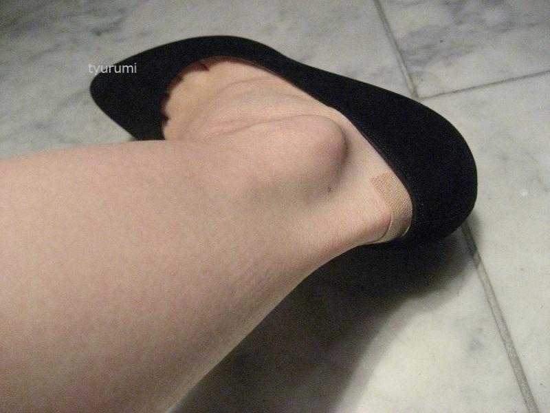 靴擦れ予防にテーピングがおすすめ