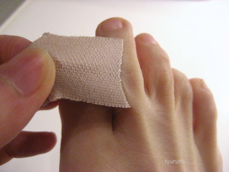 靴擦れ予防にテーピングテープがおすすめ